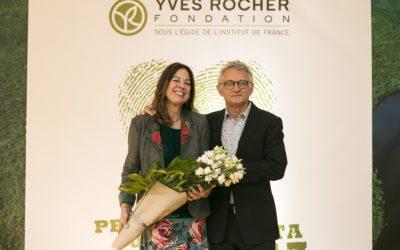 YVES ROCHER FONDATION  PRIX TERRE DE FEMMES