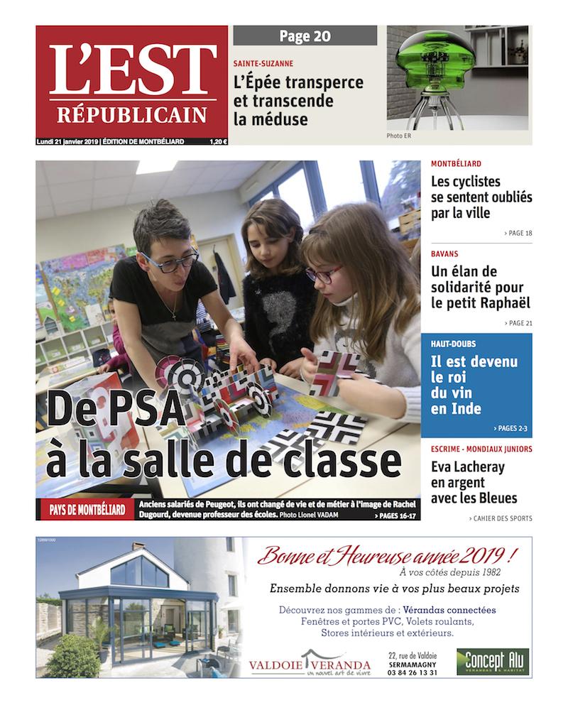 MB&F  L'Est Républicain