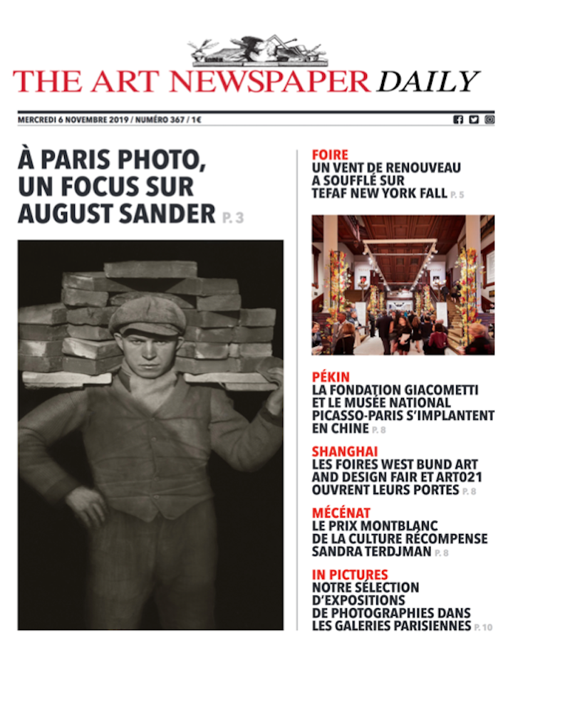 HAUSER & WIRTH  THE ARTNEWSPAPER